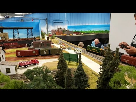 2 Rail O Scale Model Railroad