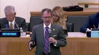 Devin Thorpe Speaking at the UN - 30 seconds