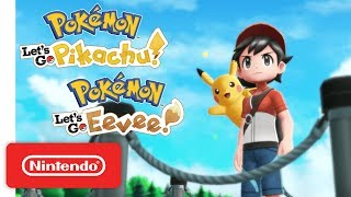 Download Pokémon: Let's Go, Pikachu! and Pokémon: Let's Go, Eevee! - Overview Trailer - Nintendo Switch Mp3 and Videos