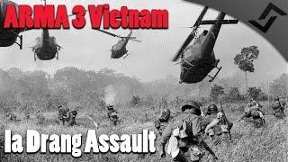 ARMA 3 Vietnam - Ia Drang Assault - Chaos in the Bush - Unsung Vietnam War Mod ARMA 3