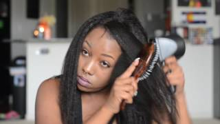 "Onyc ""Fro Out"" Hair & Wow African ""Italian Yaki"" Closure Initial Review"