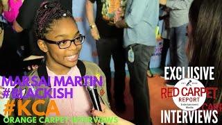 Marsai Martin #blackish Interviewed At 2017 Kid's Choice Awards Red Carpet #kca