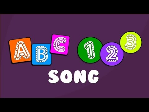 ABC 123 Song  The Alphabet Numbers Song Compilation  Learning Alphabet and Numbers for Kids