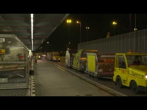 DHL Express - Leipzig Hub Large Automated Conveying System ENG