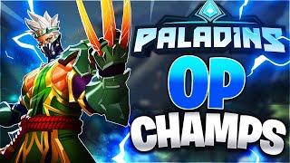 PALADINS | LOW SKILL CHAMPIONS