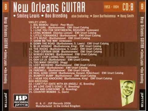 New Orleans Guitar - Smiley Lewis - Boo Breeding & More (Full Album)