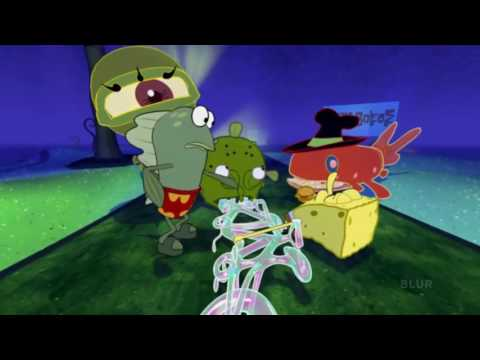 SpongeBob 4D backwards