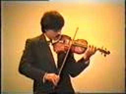 young Leonidas Kavakos plays No24 by Paganini