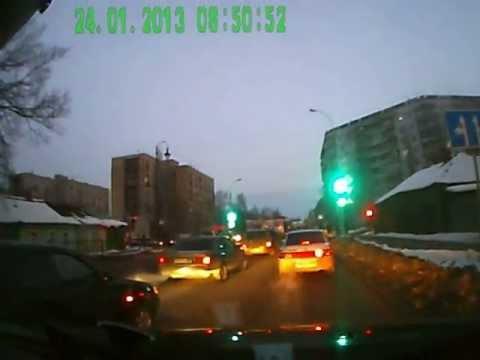 ДТП в Тамбове. 24.01.2013 Карла маркса - Чичканова