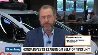 GM President Says Honda Deal Speeds Up Self-Driving Car Plans