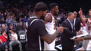 Trevor Booker Sneaks Into the Cavs Huddle