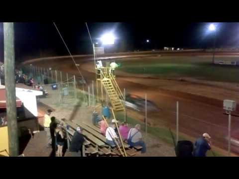 Modoc Speedway Crate Late Model Feature Race 9-24-2016