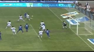 هدف الهلال الاول ضد الرائد في الجولة السادسة من دوري عبداللطيف جميل