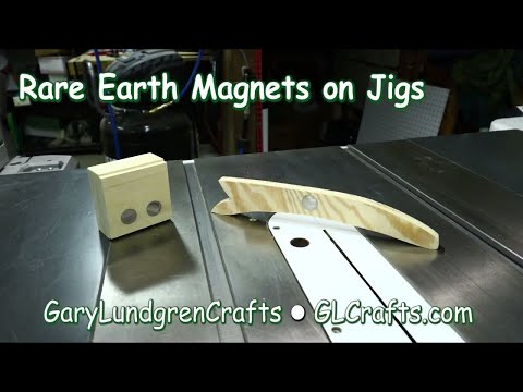 Shop Tips: Rare Earth Magnets On Jigs Ep.2017-43