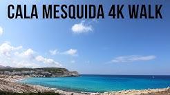 Cala Mesquida Mallorca 4K Walking Tour