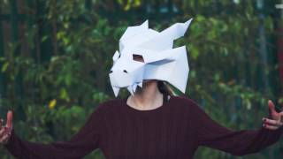 Paperpetshop Paper Mask, Papercraft  Templates