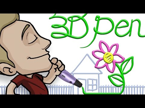 Drawing with a 3D PEN = FUN and PRACTICAL!