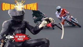 Guy races Japan's Auto Race champion | Guy Martin Proper