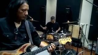 Reuni Garux band , jamming , band Indonesia 90 an