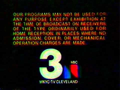 WKYC, Ch. 3 Cleveland - Sign-Off from June, 1976!!
