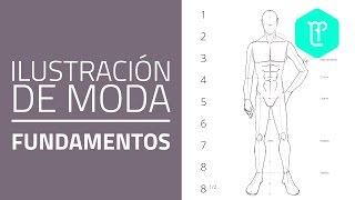 Cómo dibujar un figurín de moda masculino: proporciones