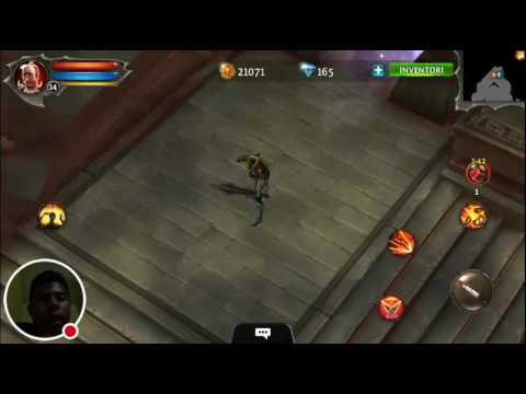 Dungeon Hunter 4 Indonesia Gameplay