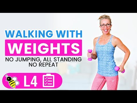Does Walking with Weights Boost Weight Reduction