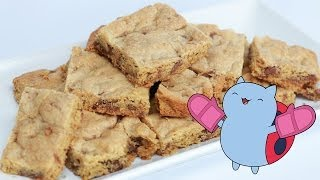 CATBUG PEANUT BUTTER SQUARES - NERDY NUMMIES