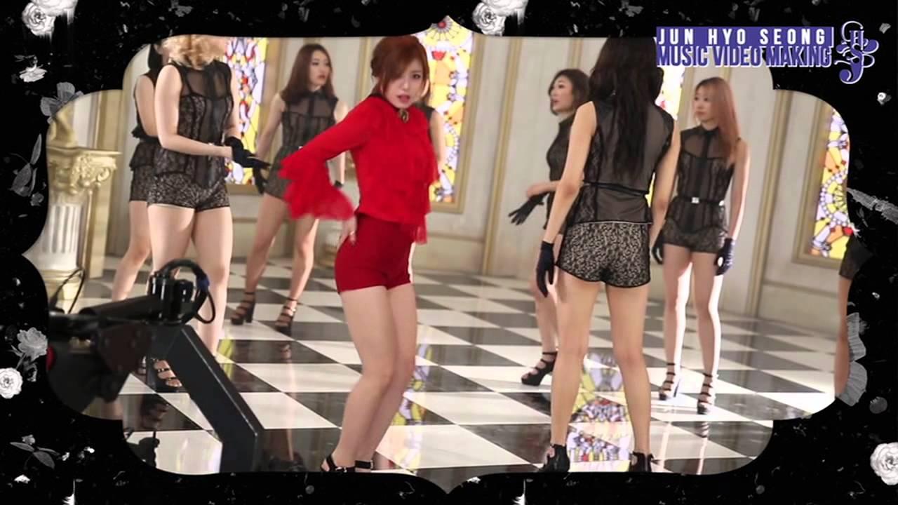 Ec A0 84 Ed 9a A8 Ec 84 B1junhyoseong Good Night Kiss Music Video Making Dvd Ver Youtube