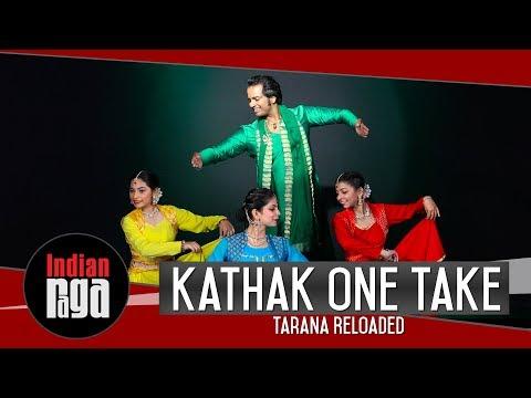 kathak-one-take-dance-|-tarana-reloaded-yaman-|-kathak-dance-collaboration