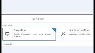 Flow 121.0 Screen Flow vs Autolaunched Flow