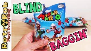Nintendo Super Mario Backpack Buddies Blind Bag Opening