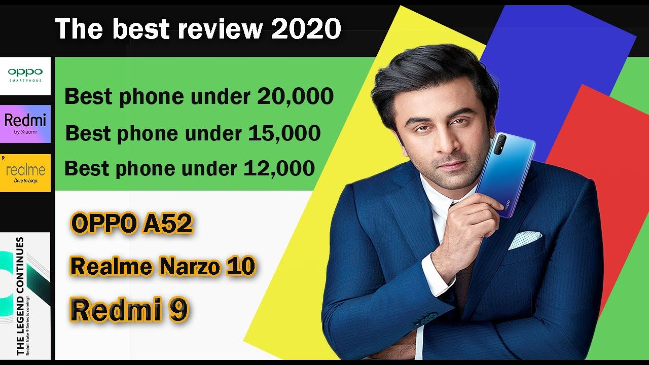 Redmi 9 vs Realme Narzo 10 | Comparison  Oppo vs Realme | Top 3 phones 2020