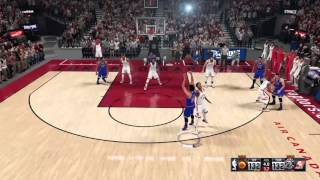 NBA 2k16 : Andrew Wiggins Game Winner VS Toronto !!