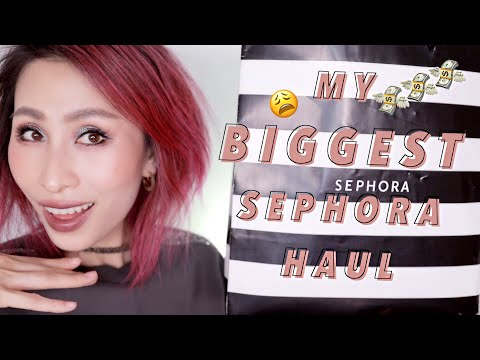 HUGE SEPHORA VIB SALE HAUL | Sephora VIB Sale 2019 | LUXURY BEAUTY HAUL thumbnail