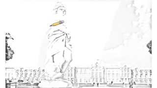 Auto Draw 2: Catherine Palace, Pushkin, St