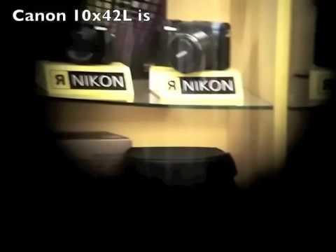 canon 12x36 is compare