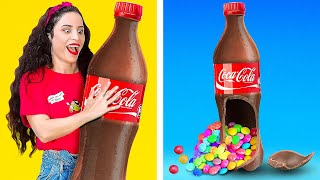 AWESOME FOOD HACKS FOR DESSERT! || Funny Foodie Situations by 123 Go! GOLD