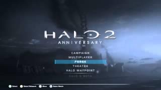 Halo 2 Anniversary Menu