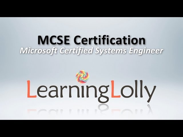 Mcse Online Training In Hyderabad India Microsoft Certified