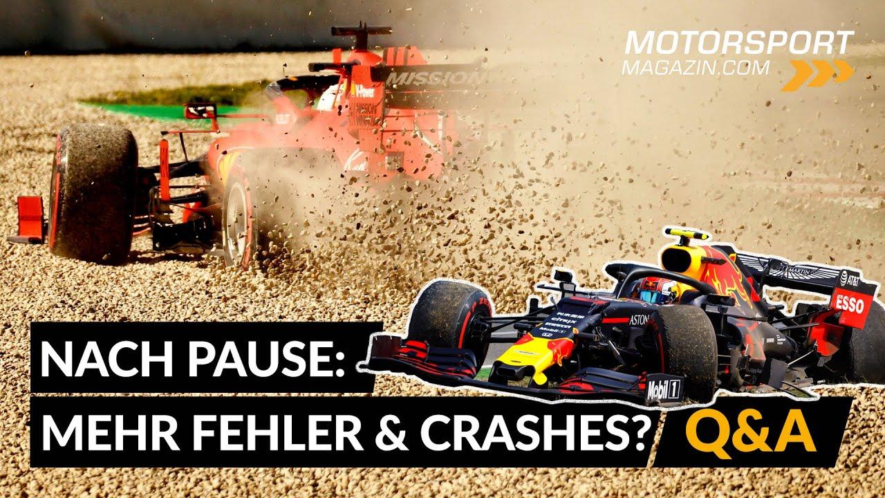 Mehr Fehler? Mehr Spannung? Mehr Unfälle? | Formel 1 2020 nach der Pause