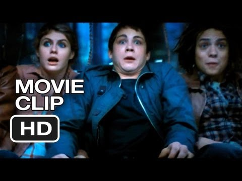 Percy Jackson: Sea Of Monsters Movie CLIP - Chariot (2013) - Alexandra Daddario Movie HD