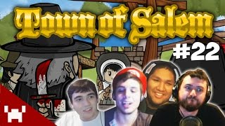 GOD SAVE BUTTERED POOPER (Town of Salem QUAD FACECAM w/ The Derp Crew Ep. 22)