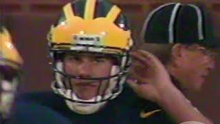 1996 UCLA Michigan Tom Brady 1st Pass