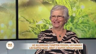 Magyarországon mintegy két és félmillió ember allergiás a parlagfűre