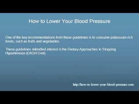 potassium and hypertension relationship