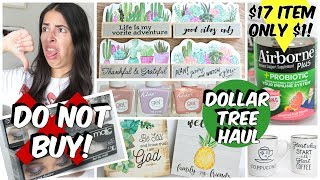 DOLLAR TREE HAUL APRIL 2019 NEW FINDS