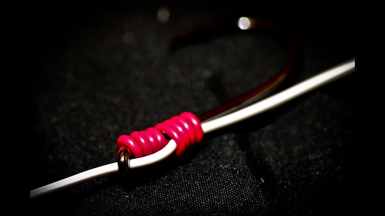 How To Tie Sliding Snell Knot Youtube