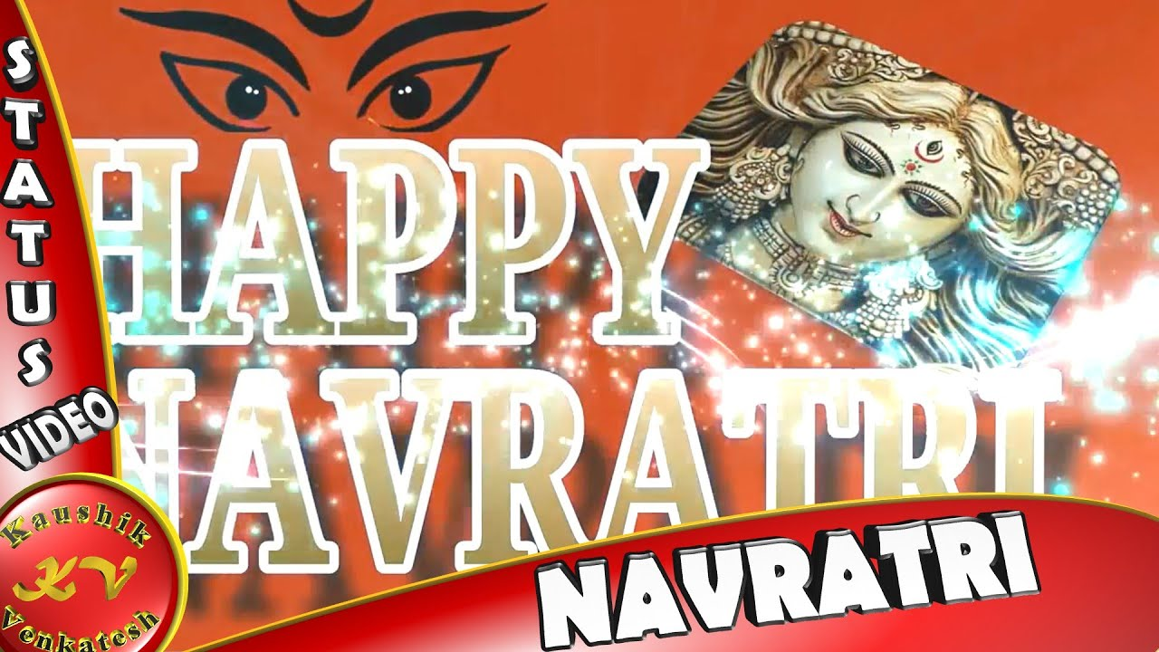 Happy navratri imagefestival wisheswhatsapp statusgreetings happy navratri imagefestival wisheswhatsapp statusgreetingsanimation messagesnavratri video youtube kristyandbryce Choice Image