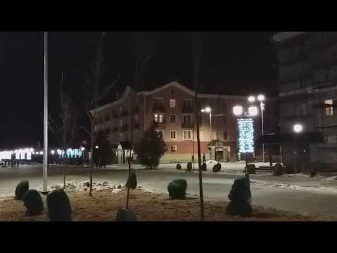 Лосино-Петровский, улица Ленина, Новый год 2018